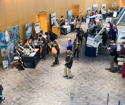 Photos of the 2019 Rare Disease Day (RDD) in the Natcher Conference Center at NIH. #rddnih